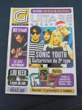GUITARE & CLAVIERS SONIC YOUTH BILL FRISELL LOU REED JOHN HAMMOND FRANK BLACK