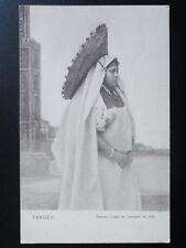 Morocco: Femme Arabe en Costume de ville Old Postcard