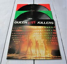 "QUEEN : Live Killers 1979 Album 1st Pressing Double Vinyl 2 x LP UK 12"" Record"