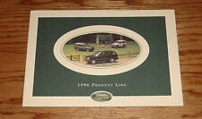 Original 1996 Land Rover Full Line Sales Brochure 96 Range Rover Defender