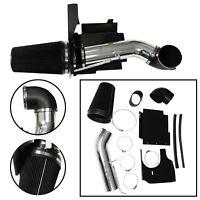 "Fit 99-06 Silverado 1500/2500 V8 4"" Cold Air Intake Induction Kit +Filter Black"
