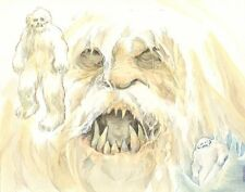 Star Wars: The Empire Strikes Back Wampa Color Commission art by Cynthia Martin