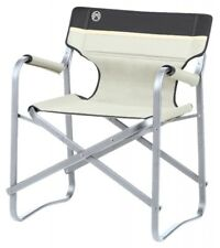Coleman Camping Chaise Deck Chair avec table Kaki chaise pliante