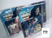 More details for x10 wwf wwe hasbro protector display case figure  plastic protective box 💚 dc