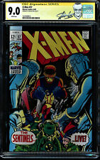 X-MEN #57 CGC 9.0 WHITE PAGES NEAL ADAMS COVER SS STAN LEE CGC #1227639015