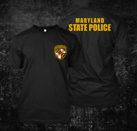 Maryland State Police - Custom Men's T-Shirt Tee