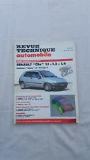 Revue technique automobile RENAULT CLIO JANVIER 1991 N°523