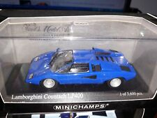 Minichamps 1/43 Lamborghini Countach LP400 1974 blue