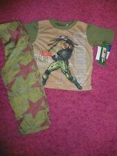 NWT - Gi Joe Army Boys Pajama Set - XS 4 NEW!!