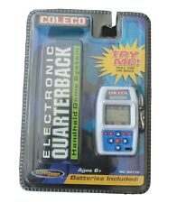 Coleco Electronic Quarterback Handheld Game System, #60110, Ages 6+