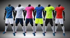 Soccer Team Jersey Football Group Game Shirt With Short Uniform Men's