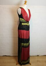 PHILOSOPHY DI ALBERTA FERRETTI Colourful Maxi Dress - Size UK 14 - IT 46 - US 10