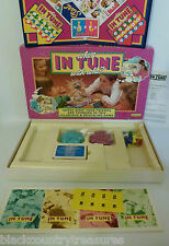 Who's IN TUNE with Who? Board Game  Spears Games Complete New Battery Fitted
