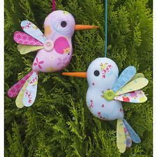 SEWING PATTERN - Melly & Me - Hum Along Birds - Softie Toy Cute Boys Girl