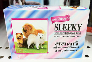 Sleeky conditioning bar For LONG Haired Dogs Nourishment and Moisture 75 gm.