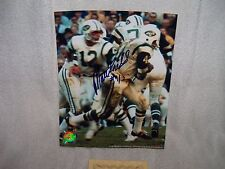 MATT SNELL SIGNED 8x10 PHOTO FILE NY JETS AUTOGRAPH NFL FOOTBALL MSD CERTIFIED