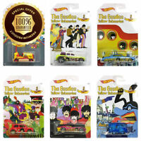 Hot Wheels - The Beatles Yellow Submarine - Limited Edition Set of 6 Diecast NEW