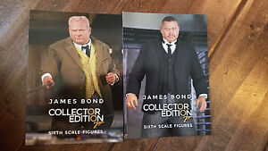 2017 SDCC COMIC CON EXCLUSIVE SIDESHOW JAMES BOND PROMO CARD SET OF 2 ODDJOB