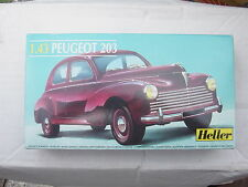 Heller Modellbausatz -im Karton - 1:43 Scale-Peugeot 203 (noch ovp.)