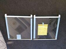 Aht73493827(2ea) Brand New Lg Refrigerator Glass Shelf
