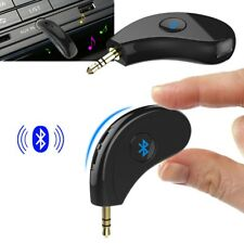 Bluetooth Wireless Audio Receiver Car Handsfree 3.5mm AUX Stereo Music Adapter