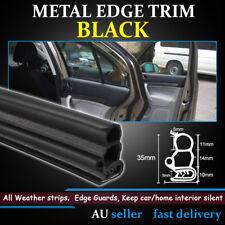 U Look Metal Edge Trim Car UTE Door Trunk Sharp Edging Strip Rubber Seal Protect