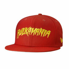 Hulk Hogan Hulkamania WWE Wrestling New Era 950 Adjustable Snapback Red Hat Cap