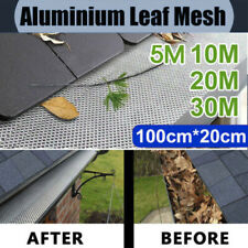 New Gutter Guard DIY Aluminium Deluxe Leaf Mesh Keeps The Leafs Out 100cm x 20cm