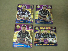 2007 RUGBY LEAGUE GOLD TAZO  TEAM SET - MELBOURNE STORM