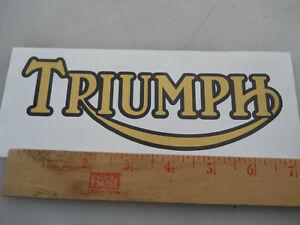 Triumph-circa 1990-Vinyl Decal//Autocollant 3529-0519