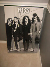 KISS 1974 DRESSED TO KILL POSTER ALBUM COVER POSTER 24x36 AUCOIN GENE ACE SEALED