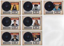2015 Panini Americana CERTIFIED SINGLES Trading Card Insert Set (7 Cards)