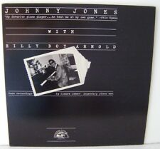 "Johnny Jones With Billy Boy Arnold LP 12"" Vinyl Alligator Records 4717"