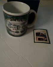 "Thomas Kinkade ""St. Nicholas Circle"" Coffee Tea Mug in box"
