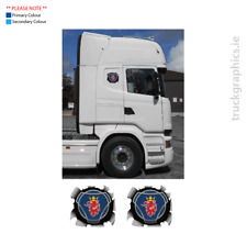 Scania Various Decals – 07 – Scania Griffin – Bullet Hole (Small)
