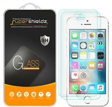 2X Supershieldz Tempered Glass Screen Protector Saver For iPhone 5 5S 5C SE