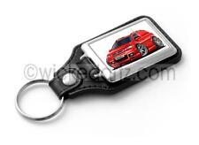 WickedKarz Cartoon Car Vauxhall Astra MK4 Van in Red Key Ring