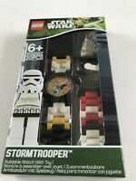 Lego Star Wars Stormtrooper Buildable Wristwatch #9002922 New in Sealed Box