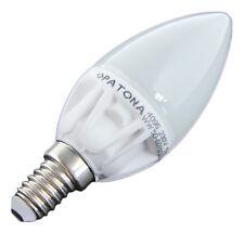 LED Energiesparlampe E14  Kerze vergleichbar 40 Watt Kerze warmweiss Keramik