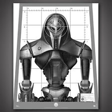 Battlestar Galactica Cylon Centurion Target Poster Replica