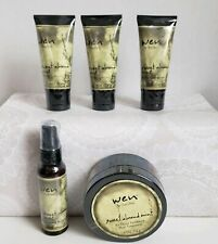 Wen Sweet Almond Mint Set of 5 Lot Conditioner, creme, spray
