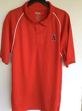 MLB Los Angeles Angels Polo Shirt Golf Shirt XL