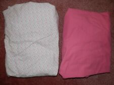Baby Girl Crib Toddler Bed Fitted Sheets