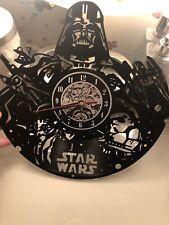 """Darth Vader Star Wars 12"""" Vinyl Record Designed Wall Clock Decor Wall Art Home"""