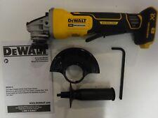 "DEWALT DCG413B 20V 20 MAX XR 4.5"" Brushless Angle Grinder W/KickBack Brake"