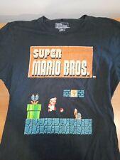 Nintendo Super Mario Brothers Tshirt (Like New) Size L Large.