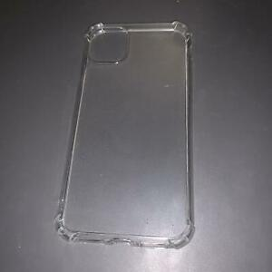 CLEAR BUMPER CASE FOR APPLE IPHONE 6 / 6S / 11 / 12 / 12 PRO SILICONE ULTRA THIN