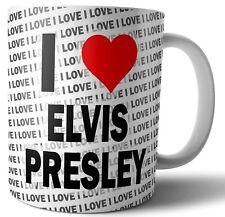 I Love Elvis Presley Thé-Café-Tasse-Tasse Anniversaire-Noël-Cadeau