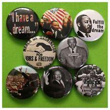 "MARTIN LUTHER KING JR 1"" buttons pinbacks BLACK HISTORY"