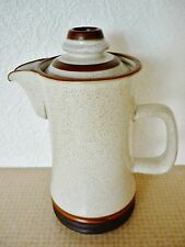 DENBY WARE TEAPOT /  COFFEE POT 9.INCHES TALL & HOLDS JUST OVER  1.1/2 PINTS